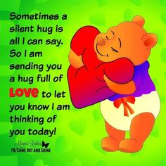 """Top 37 Winnie The Pooh Quotes for Every Facet of Life """"Winnie the Pooh can be quite the philosopher and many of his and his friends' sayings have a deep me Winnie The Pooh Pictures, Winnie The Pooh Quotes, Winnie The Pooh Friends, Eeyore Quotes, Hug Quotes, Funny Quotes, Qoutes, Psalms Quotes, Sweet Quotes"""