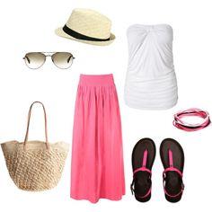 """Beach bum"" by kimeleon131 on Polyvore #fashion #style"