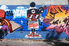 42e4a69db9a1 Converse x Juxtapoz  Wall To Wall Montreal featuring 123Klan