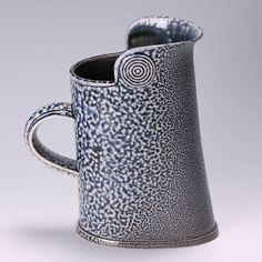 Walter Keeler salt glazed 'feldman' jug.