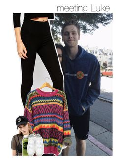 """meeting Luke"" by dipx1d ❤ liked on Polyvore featuring ASOS, New Era, Moon Juice and Yves Saint Laurent"