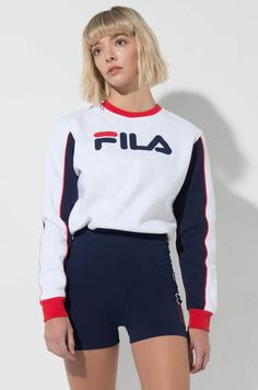 ♡Fila♡ 5 Sizzling Hair Model Tendencies For 2006 If 2005 was a time for stylish locks, then 2006 gua Fila Vintage, Sporty Outfits, Urban Outfits, Chic Outfits, Fashion Outfits, Fila Apparel, Fila Outfit, Jugend Mode Outfits, Athleisure Fashion