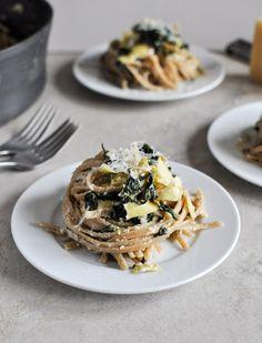Spinach and Artichoke Linguini is the most delicious dinner recipe
