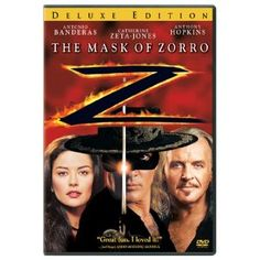 The Mask of Zorro - cute movie.