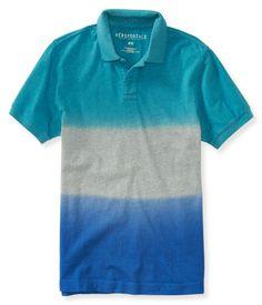 Dip Dye Jersey Polo - Tinte De Inmersión c65c37dbd4de3