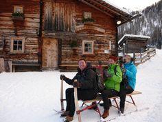 Rodelpartie mit Sepp - Südtirol Ahrntal - Hotel Alte Mühle
