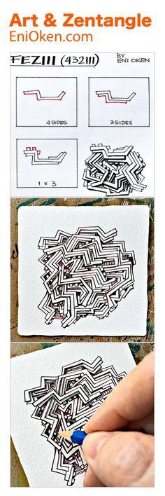 FEZIII my new tangle • enioken.com