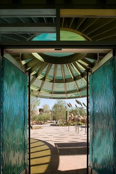 The Origen Museum at the Las Vegas Springs Preserve was designed by Tate Snyder Kimsey Architects.