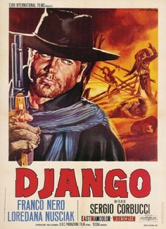 Django, 1966, Art Direction: Carlo Simi