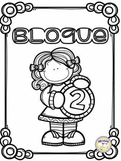 Carátulas Coloring Pages For Kids, Coloring Books, School Frame, School Clipart, School Items, Borders And Frames, Binder Covers, Teaching Math, School Projects