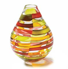 Beautiful Art Glass Vase To Enjoy More Beautiful Hollywood Interior Design Inspirations To Repin & Share @ InStyle-Decor.com Beverly Hills Enjoy