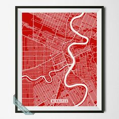 Winnipeg canada city prints map art world cities map prints winnipeg print canada poster winnipeg poster by vocaprints on etsy prices start from 990 gumiabroncs Image collections