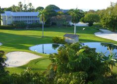 Cheeca Lodge features a 9-hole par 3 golf course designed by Jack Nicklaus