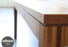 Wittmann Tisch || Josef || special edition ||  #solidwood #table #furnituredesign #diningtable #tisch #esszimmer www.wittmann-gmbh.at Solid Wood, Stairs, Furniture, Table, Design, Home Decor, Lunch Room, Stairways, Stairway