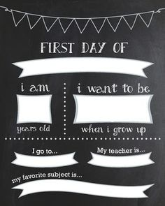 If you haven't started a tradition with taking your kiddos first day of school…