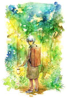 /Ginko Mushishi/#612190 - Zerochan   Artland   Yuki Urushibara