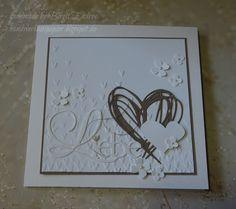 Die erste Hochzeitskarte des Jahres