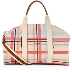 Splendid Monterey Printed Weekender (£114) ❤ liked on Polyvore featuring bags and luggage