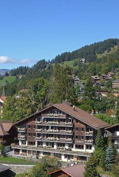 Centrally located, Hotel Caprice enjoys a premier position in Wengen Wengen Switzerland, Salzburg, Austria, Summer Time, Villa, Europe, Cabin, Country, House Styles