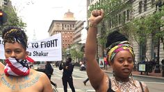 Women Go Topless To Protest Killings Of Unarmed Black Women By Police