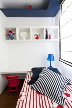 Nautical Contemporary Kids By Regina Meira Small Boys Bedrooms Boy Toy Rooms