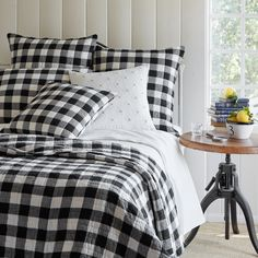Find Nicolao Single Quilt Charlton Home online. Shop the latest collection of Nicolao Single Quilt Charlton Home from the popular stores - all in one Luxury Bedding Collections, Luxury Bedding Sets, Bed Linen Design, Bed Design, Buffalo Check, Quilt Bedding, Linen Bedding, Bed Linens, Twin Quilt