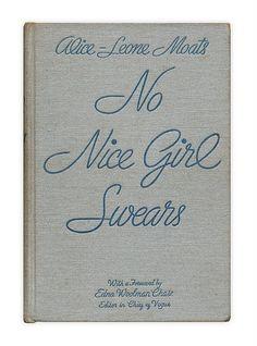 no nice girl swears..whoops
