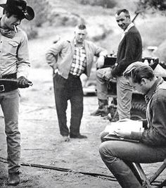 Behind the scenes on the set of Laramie