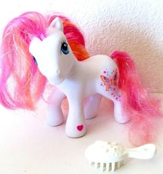 What ponies used to bei used to get mine in my happy meal lol