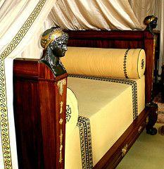 Malmaison Chateau De Malmaison, La Malmaison, Furniture Styles, Unique Furniture, Furniture Design, French Furniture, Miniature Furniture, Glamour Decor, Empire Furniture