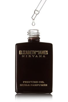 Elizabeth and James Nirvana - Nirvana Black Perfume Oil - Violet, Sandalwood & Vanilla, 14ml - one size