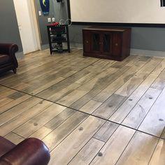 Weathered Gray Concrete Wood - Wilmington NC