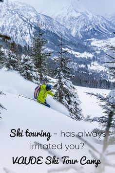 For the time in the Kleinwalsertal, together with the Bergwelt-Alpinschule Oberstaufen. Ski Touring, Cultural Events, Skiing, Camping, Tours, Activities, Mountains, Travel, Outdoor