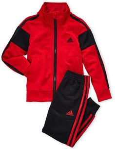 adidas Boys Two-Piece Anthem Tricot Track Suit Swag Outfits Men, Sport Outfits, African Men Fashion, Mens Fashion, Little Boy Outfits, Outfit Grid, Student Fashion, Men Shirt, Athletic Wear
