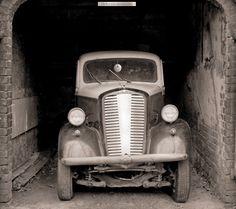 Fotoplane für Garagentor Opel´36 / Garage Mural Opel´36