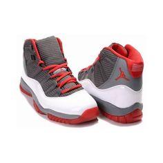 Shop Authentic Nike Air Jordan 11 XI Retro - Charcoal Grey Varsity Red White Contrast, Size 7 7.5 8 8.5 9 9.5 10 10.5 11 11.5 12 12.5 13 14 15 Euro Size 40 41 …
