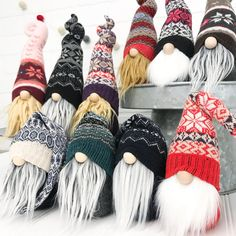 Your one stop shop for holiday gnomes, Christmas gnomes, DIY sew your own gnome kits, a monthly subscription box, and more! Get your adorable plush gnomes here! Easy Christmas Crafts, Christmas Gnome, Christmas Projects, Etsy Christmas, Simple Christmas, Gnome Tutorial, Diy Weihnachten, Gnome Hat, Shutterfly