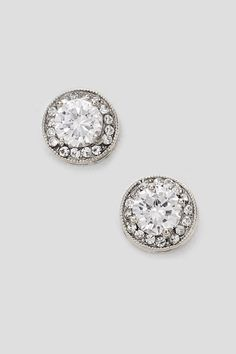 Classic Lauren Earrings in Silver | Women's Clothes, Casual Dresses, Fashion Earrings & Accessories | Emma Stine Limited