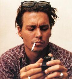 Iconic Johnny Depp style
