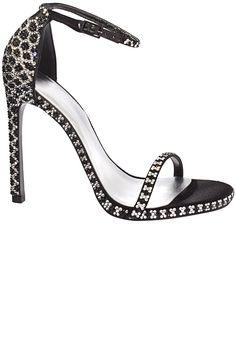 Stuart Weitzman customizable sandals, $2,735, stuartweitzman.com.    - HarpersBAZAAR.com