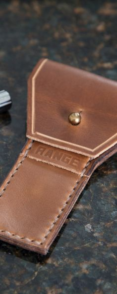 This full grain leather travel dopp, discovered by The Grommet, is designed to wear in—not wear out. Made by hand in Wyoming, this case will age gracefully.