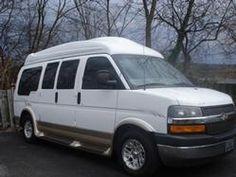 195fa94d5947d3 2004 Chevrolet Express AWD Regency Conversion Van Used Vans