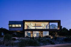 Set on the edge of the Anglesea coastline, the Dame Of Melba House uses carefully selected materials to overcome its salty seaside environment. The exterior is clad in locally sourced timber, meant to slowly weather over time and expose a...