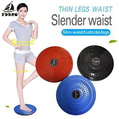 Balance Board Figure Trimmer Tone Core Home Gym Equipment Workout Flexible Nib
