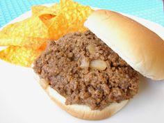 The Royal Cook: Grandma's BBQ Hamburgers (aka Sloppy Joes)