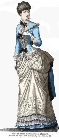 1902 besten Fashion plates - 1883-1889 Bilder auf Pinterest in 2018 ...