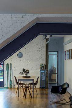 Estrutura reforçada permite que apê dos anos 20 vire loft moderninho