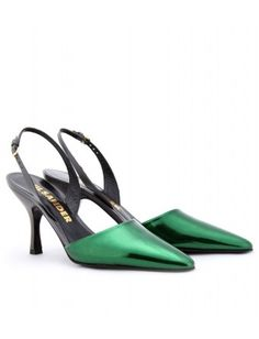 Jil Sander - HELMUT BOXCALF LEATHER SLING-BACKS