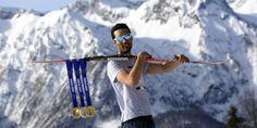 Martin Fourcade, le collectionneur de médailles Bleu. #JO #2014 #sochi #sotchi #olympics #games