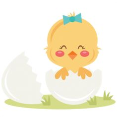 "Girl Chick in Egg  Right now this is in the ""NEW SVGs"" section at a discounted price.  They never stay there for long so act fast.  http://www.misskatecuttables.com/products/todays-svgs/"